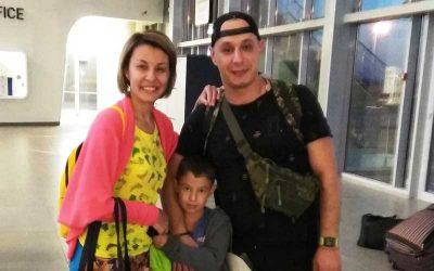 Stanislav en Elena N uit Samara